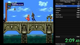 Castlevania Rondo of Blood Any% [Maria Only] in 15:57