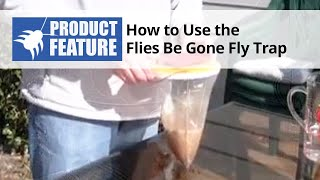 Flies-Be-Gone Fly Trap Review