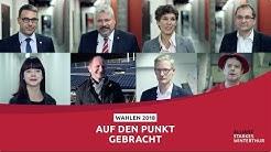 Wahlen Winterthur 2018: Argumente für Allianz starkes Winterthur