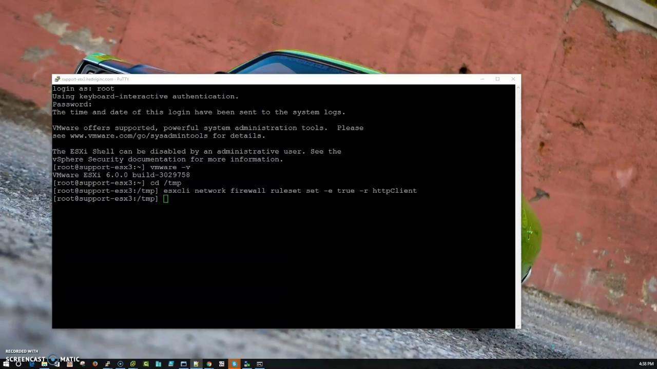 How to Upgrade VMware ESXi 6 0 to 6 5 online