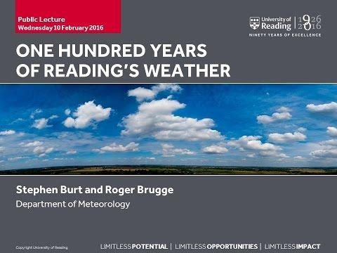 Dr Roger Brugge and Stephen Burt Public Lecture