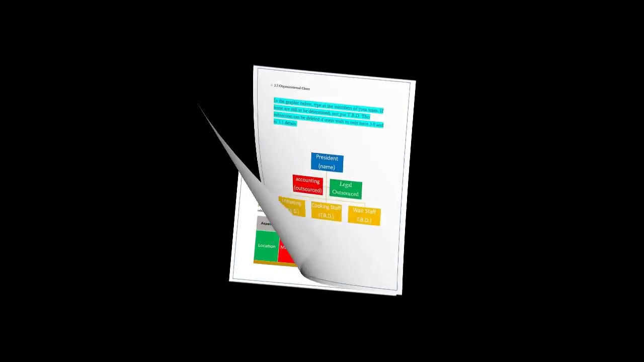 restaurant business plan template   view the pages   YouTube restaurant business plan template   view the pages