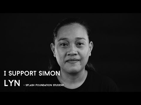 I SUPPORT SIMON - Lyn (Splash Foundation Student)
