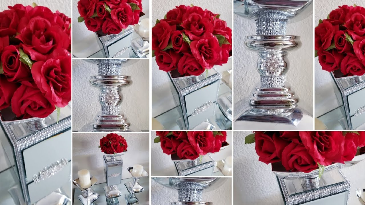 3 Piece Dollar Tree Glam Centerpiece Creating Elegance Using A Box
