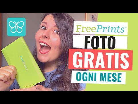 FREEPRINTS Stampe Fotografiche GRATIS Ogni Mese