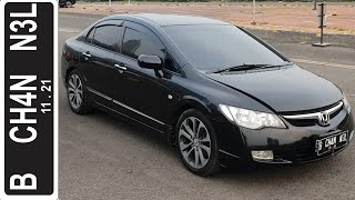 In Depth Tour Honda Civic 1.8 AT [FD1] (2007) - Indonesia