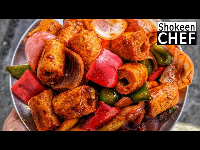 Kebab Chilli Chicken | Easy Chilli Chicken Recipe | चिली चिकन रेसिपी