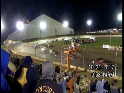 10-21-17 KOKOMO SPEEDWAY, IN  KOKOMO KLASH 11,  MODIFIED - B FEATURE 2