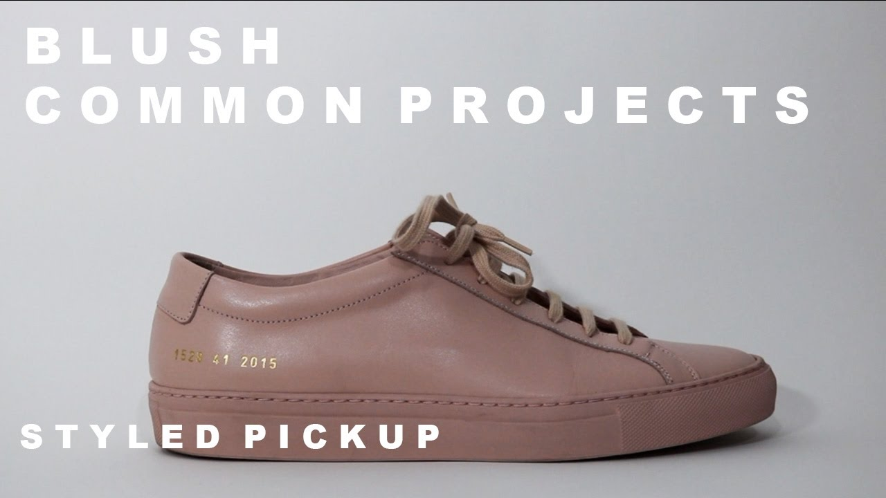 Blush Common Projects | Styled Pickup