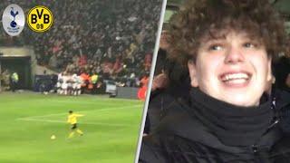 Tottenham 3-0 Borrusia Dortmund! Champions League Match Day Vlog! Heung min son (손흥민/孫興慜) scores!