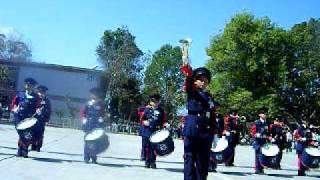 Banda de Guerra Primaria Jose Maria Morelos y Pavon de Maneadero Ensenada BC