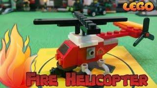 Пожарный Вертолет (Fire Helicopter), Лего #мультики, Аналог #LEGO(Конструктор лего Пожарный Вертолет спасательная техника, лего мультики, аналог Лего. https://www.youtube.com/watch?v=lydCLVPv..., 2016-04-15T14:30:00.000Z)