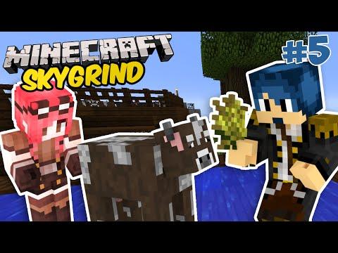 Minecraft ITA - La Mucca Pazza!! - SkyGrind - Ep 5