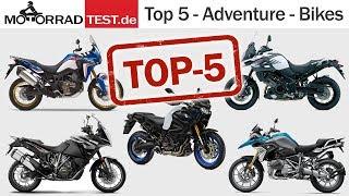 Top 5 Reise-Enduros | Empfehlungen der Redaktion von motorradtest.de