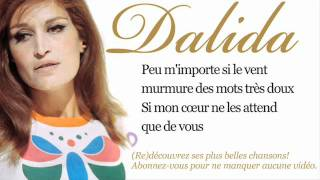 Dalida - Rendez-vous au Lavandou - Paroles (Lyrics)