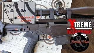 0.15 MOA group @ 200 yards: the result of crafting bullet jump: Extreme Reloading (Ep. 07)