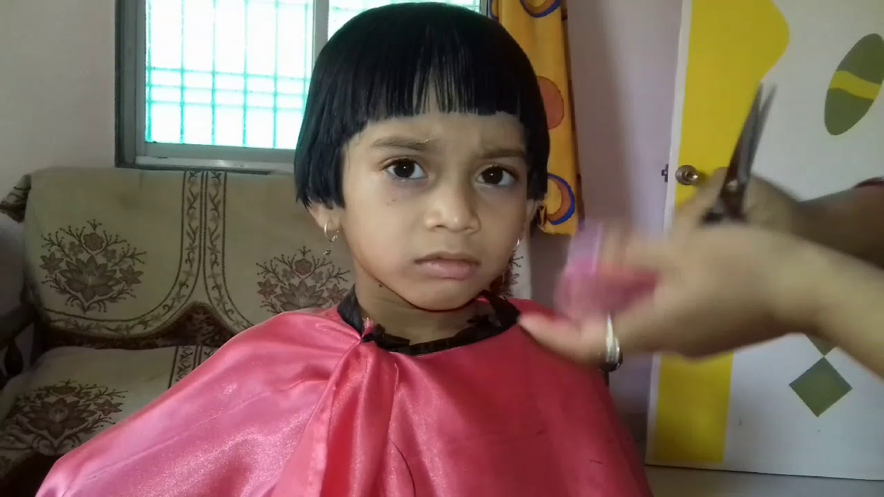 Baby Rasna Hair Cut Youtube