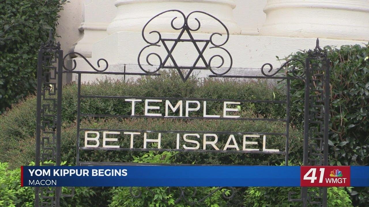Yom Kippur observance begins in Macon
