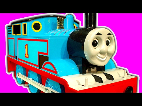 GIANT TOMY Thomas The Tank Unboxing Totally Awesome Classic Thomas Toy