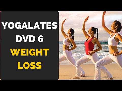 Yogalates DVD 6 Weight Loss