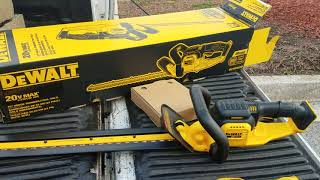 REVIEWED UNBOXED - DEWALT22 in. 20-Volt MAX Lithium-Ion Cordless Hedge Trimmer