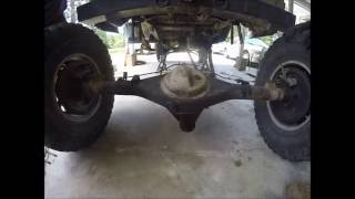 Removing The Rear Axle- Pickup/4Runner (more Of A Blog Ish Vid Than A How-to)