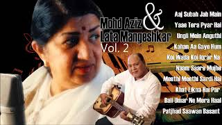 Hits Of Mohd Aziz & Lata Mangeshkar Vol. 2 | Evergreen Romantic Songs