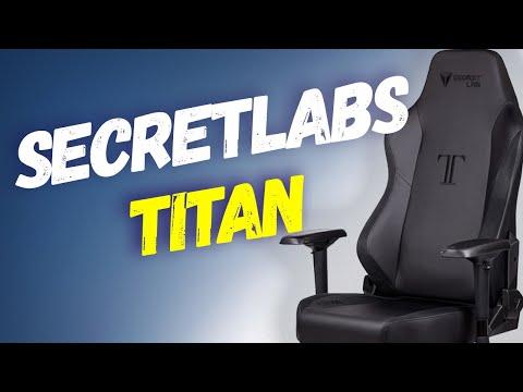 SecretLabs - TITAN (Gaming Chair: Unboxing, Build, Review)