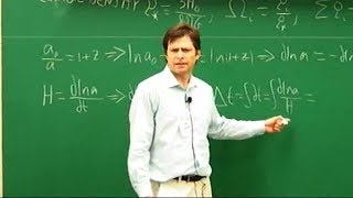 Cosmology, Max Tegmark | Lecture 2 of 3
