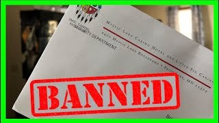 You email has been banned