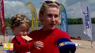 В Киеве прошли соревнования на сапах