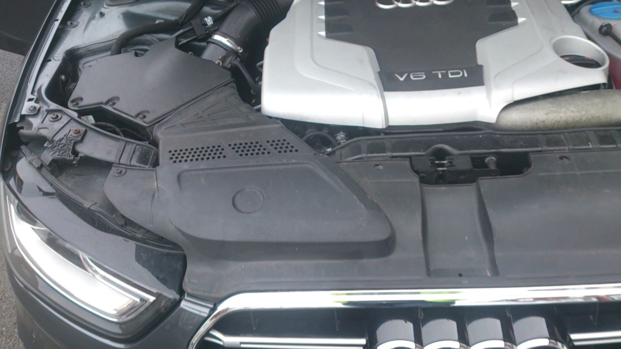 Audi A4 Sline S4 Rep 27 Diesel 2010 Engine Bay Youtube