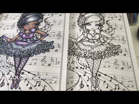 Watch Me Color With Polychromos In Adult Coloring Books