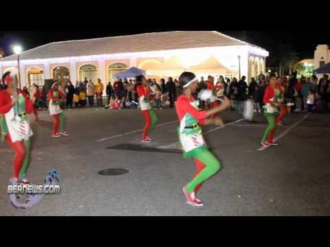St.George's Dancerettes #2 - St.George's Santa Parade Dec10 2010