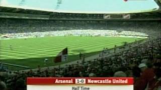 Arsenal v Newcastle - F.A. Cup Final (1998) - Live Footage