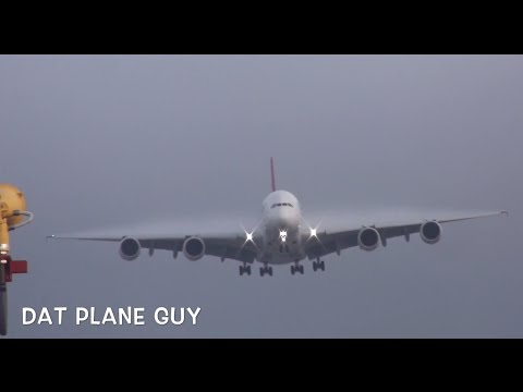 HEAVY ACTION Sydney Airport Plane Spotting Part One