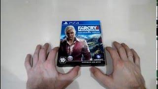 Far Cry 4 Полное издание PS4 распаковка