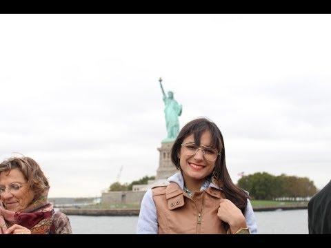 Vlog: NYC Estátua da Liberdade, 9/11 Memorial, Chinatown, Little Italy, Soho, Washington Sq...