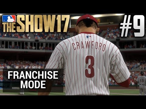 MLB The Show 17 Franchise Mode | Philadelphia Phillies | E9 | J.P. CRAWFORD'S MLB DEBUT (G146 S1)