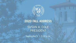 2020 FALL ADDRESS