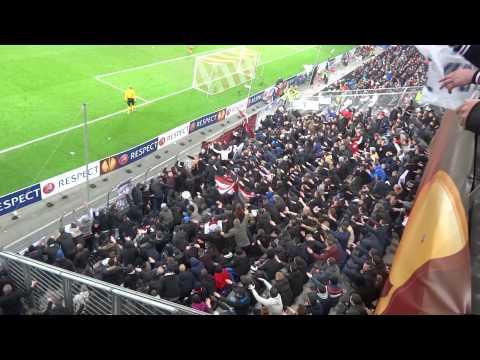 RB Salzburg - AJAX 27-2-2014 ( 3 - 1 ) : Voor Ajax Amsterdam