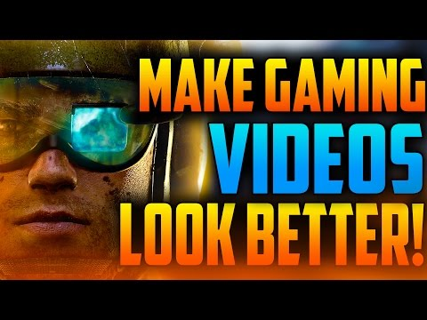 Sony Vegas Pro: HOW TO MAKE YOUR GAMEPLAY VIDEOS LOOK BETTER! (BEST COLOR CORRECTION SETTINGS 2016)
