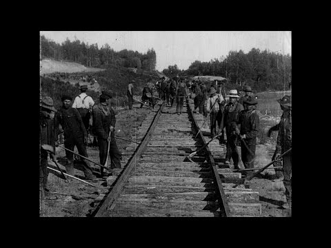 The Building of a Transcontinental Railway in Canada: [extract]  (1910)