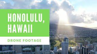Honolulu, Hawaii || 4K Drone Footage of Hawaii