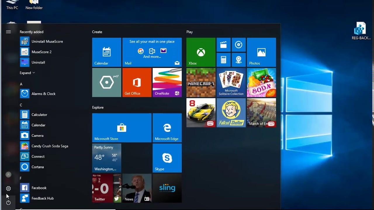 Uninstall MuseScore 2 on Windows 10 Creators Update