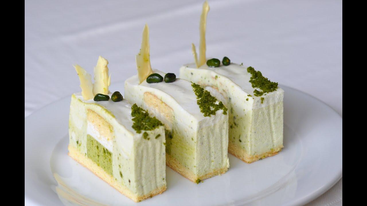 Coconut Milk Mousse Cake