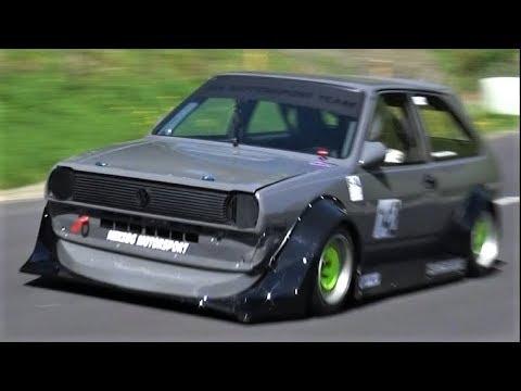 10.000Rpm VW Polo Mk2 1600cc || 250Hp/730Kg FWD Monster
