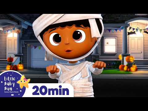 Spooky Halloween Compilation Part 3   ALL Halloween Special +More Nursery Rhymes   Little Baby Bum