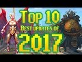 Runescape - Top 10 Best Updates of 2017!