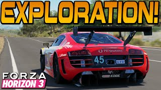Forza Horizon 3 MAP EXPLORATION! (Full Game Gameplay)